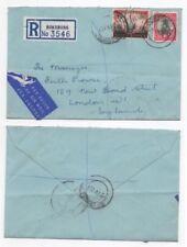 Handstamped Elizabeth II (1952-Now) British Colonies & Territories Postal History Stamps