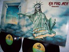 KIN PING MEH-CONCRETE-2 LP SET-ORIGINAL GERMAN PRESS VINYL´S  MINT!!!TOP!!!!