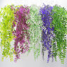 Artificial Plants Vines Fern Willow Wicker Twig Fake Hanging Faux Curly Seaweed