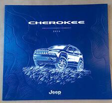 2016 Jeep Cherokee 48-page Original Sales Brochure