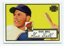 1952 Topps GUS BELL Baseball Card #170 Pittsburgh Pirates 2001 Archives REPRINT