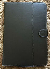 10 Inch Folio Tablet Case/Cover in Black PU Leather