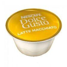 50 x Dolce Gusto Latte Macchiato Milk Pods only, No Coffee pods