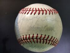 1978 Cincinnati Reds Team Signed C Feeney  Baseball Bench, Morgan, 27 sigs & PSA