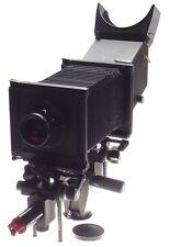 SINAR P2 black complete large format view film field camera Super-Angulon 5.6/75