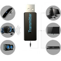 Bluetooth 3.0 A2DP Stereo Audio Adapter Dongle Sender Transmitter for TV PC MPP3