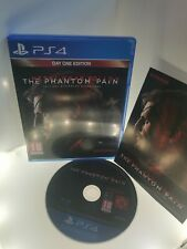 Metal Gear Solid V: The Phantom Pain (PlayStation 4, 2015) Day One Edition
