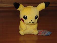 PIKACHU Pokemon Center Poke Plush Sitting Cuties stuffed doll NEW