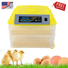 112-Egg 2 Layer Practical Fully Automatic Poultry Incubator Temperature Control