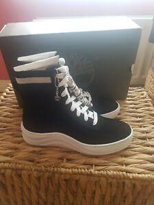 Womens black timberland ruby ann sneaker boots size 6 black nubuck brand new