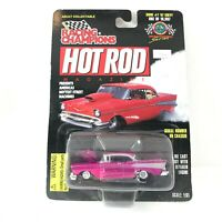 "RACING CHAMPIONS HOT ROD MAGAZINE ""57 CHEVY 1.61 SCALE"