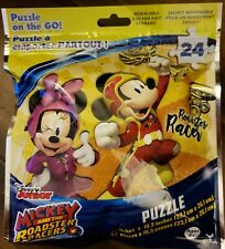 Disney Junior Mickey Mouse Racer Puzzle -  24 Pieces - Puzzle On The Go!