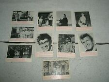 10 FREDDIE AND THE DREAMERS trading cards 1965