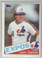 1985 Topps Baseball Montreal Expos Team Set