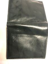 Green Men's Minimalist Full Grain Genuine Leather Hand Crafted Wallet