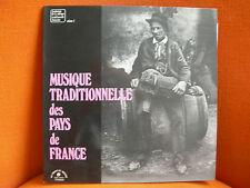 VINYL 33T – MUSIQUE TRADITIONELLE DES PAYS DE FRANCE – CHANT DU MONDE 1975