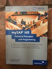 MySAP HR: Technical Principles and Programming by E. Brochhausen