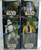 *NEW IN BOX* SEALED Star Wars Action Collection LOT! R2-D2, Luke, Jawa and More!
