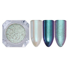 Chameleon Nail Art Mirror Powder Glitter Matte Mermaid Chrome Pigment Paillettes