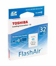 Toshiba Flash Air W-03 32GB SD Memmory Card