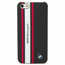 BMHCP5SRN BMW Motorsport Collection Rubber Navy Phone Hard Case for iPhone 5/5s
