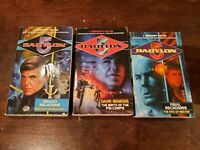 Babylon 5 by J. Gregory Keyes BESTER Trilogy PSI CORPS (Lot 3 pbks 1st Editions)