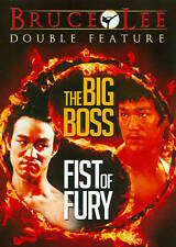 The Big Boss (1971) / Fists of Fury (1972) (DVD) Bruce Lee Double Feature  NEW