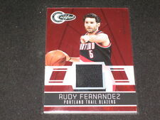 Rudy Fernandez Certified Authentic Game Used Jersey Basketball Card #46/249