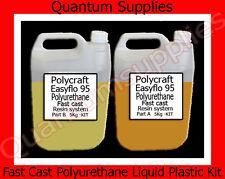 Easyflo 95 - 10 litri FAST CAST POLIURETANO LIQUIDO KIT IN PLASTICA