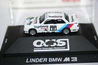 Herpa Spur H0 1:87 Motor Sport: 3526 Lindner BMW M3, OVP, Präs.box