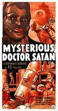 Misterioso Doctor Satanás Cartel 02 A4 10x8 impresión fotográfica