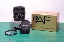 Nikon 60mm f/2.8 Micro Nikkor FX AF Macro Lens (1:1 Macro) Mint!
