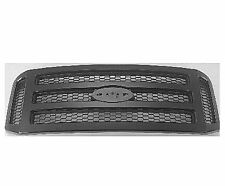 Black Textured Grille Fits 2005 2006 2007 Ford F250 F350 F450 FO1200472