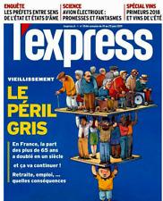 L'EXPRESS*19/06/2019*NEUF*N°3546*SOUS FILM**LE PÉRIL GRIS=VIEILLISSEMENT*BOURGET