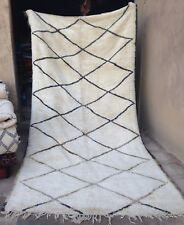 Vintage Beni Ouarain  Ourain tribal rug    265 x 185cm