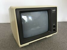 Vintage Amdek Monochrome Amber Personal Computer CRT Monitor Video-300A
