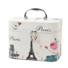 Creative Cosmetic Box Makeup Box Large Capacity Makeup Bags, Paris