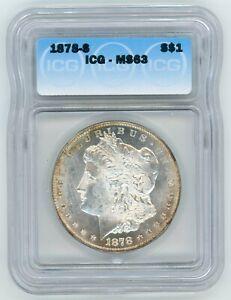 1878-S ICG MS 63 Morgan Silver Dollar
