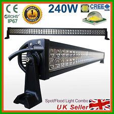 """240 W 42"""" CREE LED Luz Barra Reflector + Lámpara de Inundación Trabajo Offroad 4x4SUV, Camioneta D"""