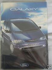 Ford Galaxy range brochure May 1995