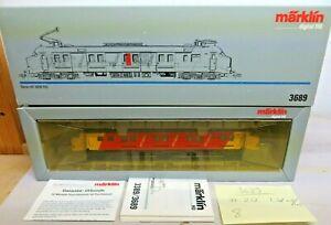 Märklin 3689 H0 Electric Railcars Series Mp 3000 D. NS Changing Light Red/White