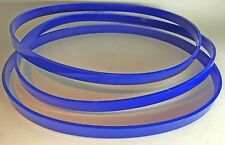 """Set of 3 URETHANE Band Saw TIRES 6"""" X 1/2"""" for 3 WHEEL SAW 1/8"""" Ultra Thick"""
