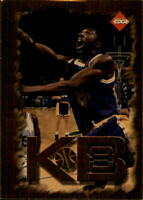 1998 Collector's Edge Impulse KB8 Gold Lakers Basketball Card #5 Kobe Bryant