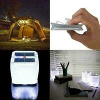 Foldable 10LED Solar Power Inflatable Tent Camping D0H4 A9E4 Light Emer N2G0