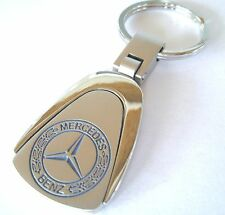 MERCEDES BENZ KEY CHAIN RING FOB CLA250 C300 E350 CLA CLE CLASS 2017 2016 CHROME