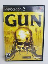 Gun Sony PlayStation 2 PS2 2005 Tested Works No Manual
