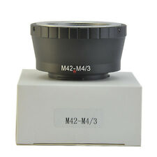 M42 Lens to Micro 4/3 M4/3 Adapter For Olympus Panasonic Micro Four Thirds DSLR