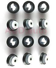 50xNylon Interior Door Panel Card Pillar Trim Clip For RENAULT PEUGEOT CITROEN