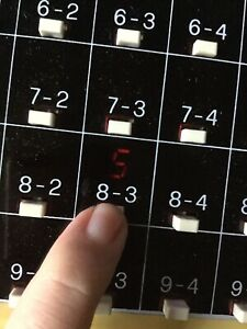 Vintage Galoob 1985 Touch'n Tell Me Addition And Subtraction Calculator