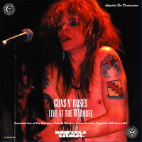 GUNS N' ROSES CD LIVE AT THE MARQUEE MC-074 HEAVY METAL HARD ROCK BAND